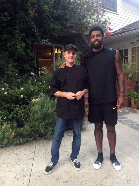 Services for Kyrie Irving Private Chef